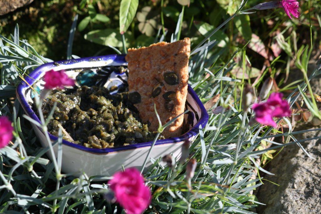 Tartare d'algues à la spiruline